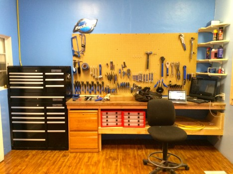 Fully stocked tool set for all our repairing needs
